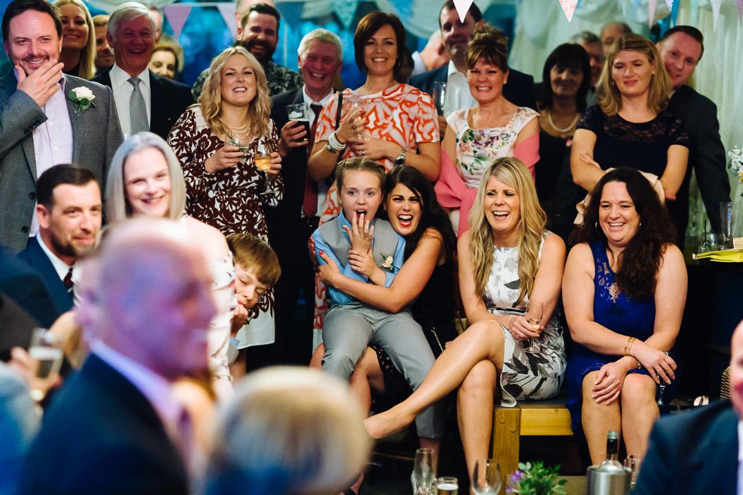 Happy guests at Redann Inn weddding